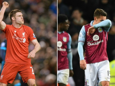 Liverpool's James Milner has six more Premier League assists than Aston Villa in 2016
