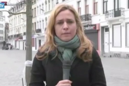 Giovanna Pancheri was harassed during the report