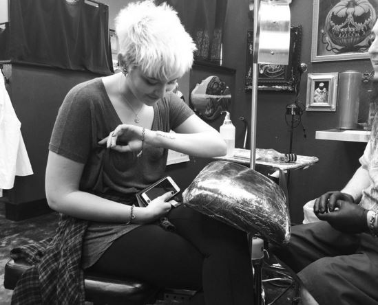 Paris Jackson marks 18th birthday with sweet tattoo tribute to late dad Michael Jackson