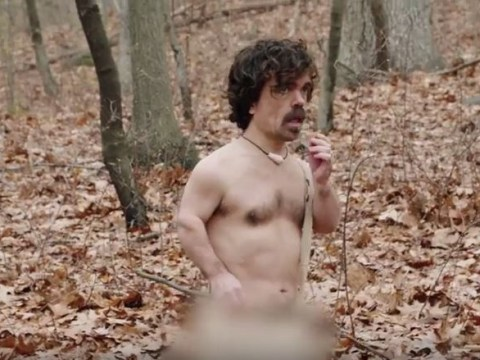 Game Of Thrones' Peter Dinklage gets Naked And Afraid with Leslie Jones on Saturday Night Live