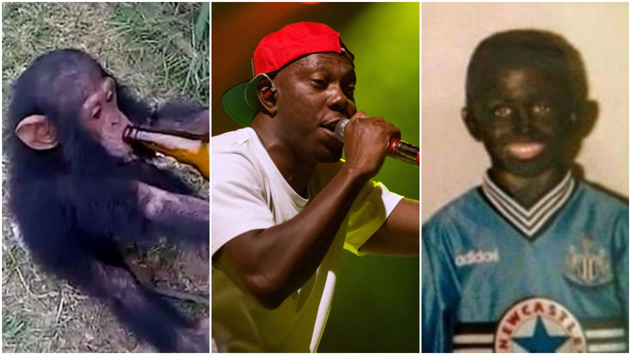 Dizzee Rascal apologises for animal cruelty video… with an image of a young boy in blackface