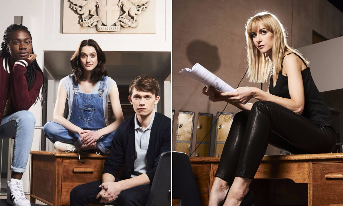 We now know the names of the main character and first episode of Doctor Who spin-off Class