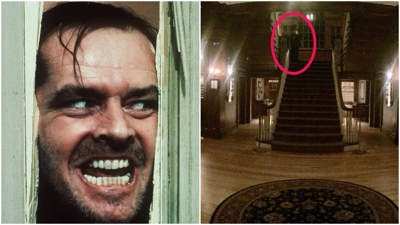 Someone reckons they saw a ghost lurking in the hotel that inspired The Shining
