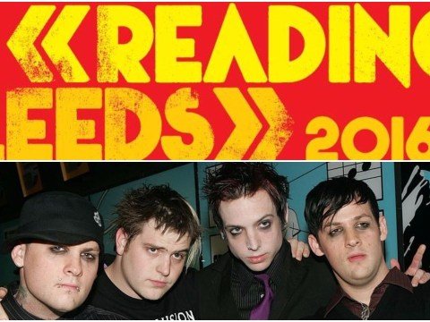 People are very excited to hear Good Charlotte are playing Leeds and Reading 2016
