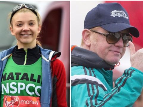 Celebs including Natalie Dormer, Chris Evans and Dame Kelly Holmes hit the London Marathon