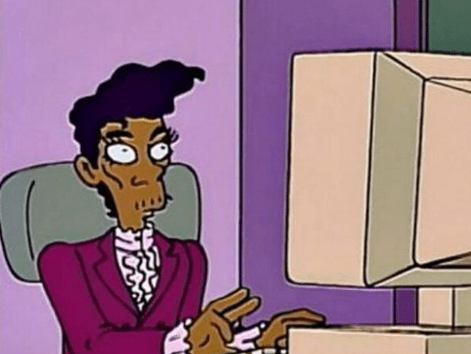 Script from special Prince episode of The Simpsons that never got made is unearthed