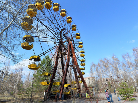 Chernobyl 30 years on: Incredible look inside disaster zone where time stood still