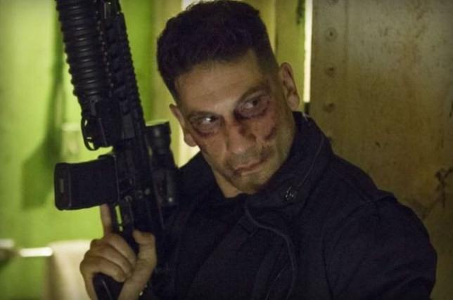 the Punisher is getting his own Netflix series