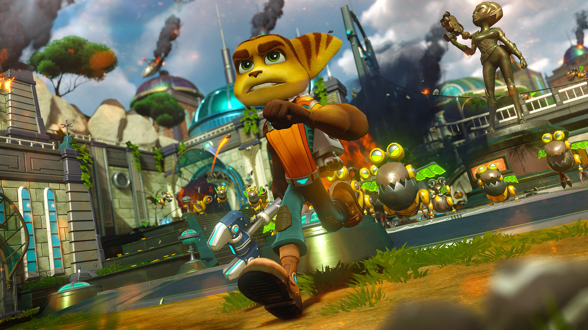 Ratchet & Clank (PS4) - film quality graphics