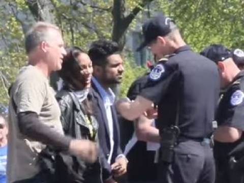 Daredevil and Jessica Jones star Rosario Dawson arrested for crossing police lines at Democracy Spring protest