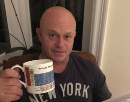 ross kemp coffee