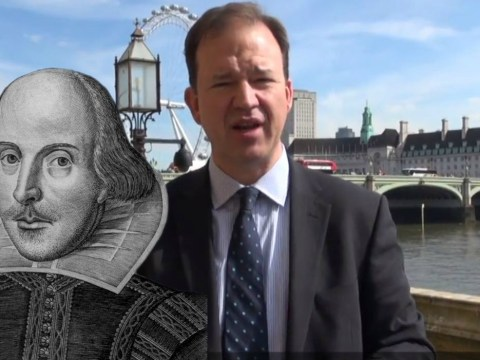 MP's are reciting Shakespeare to celebrate the 400th anniversary of his death