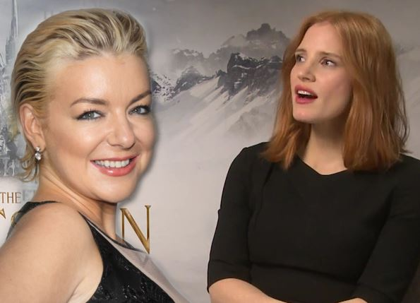 Jessica Chastain has said some really lovely things about Sheridan Smith