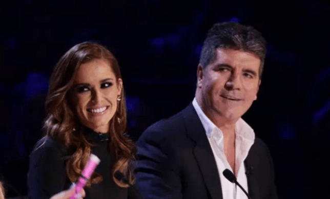Cheryl and her BFF Simon Cowell (Picture: ITV)