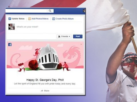Facebook just wished people 'Happy St George's Day' too early