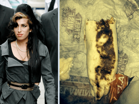 Woman finds Amy Winehouse's face in her KFC wrap
