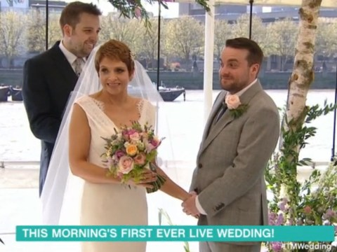 This Morning just hosted its first live wedding and everybody got very emotional