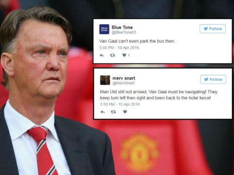 Louis van Gaal brutally trolled after Tottenham Hotspur v Manchester United kick-off is delayed