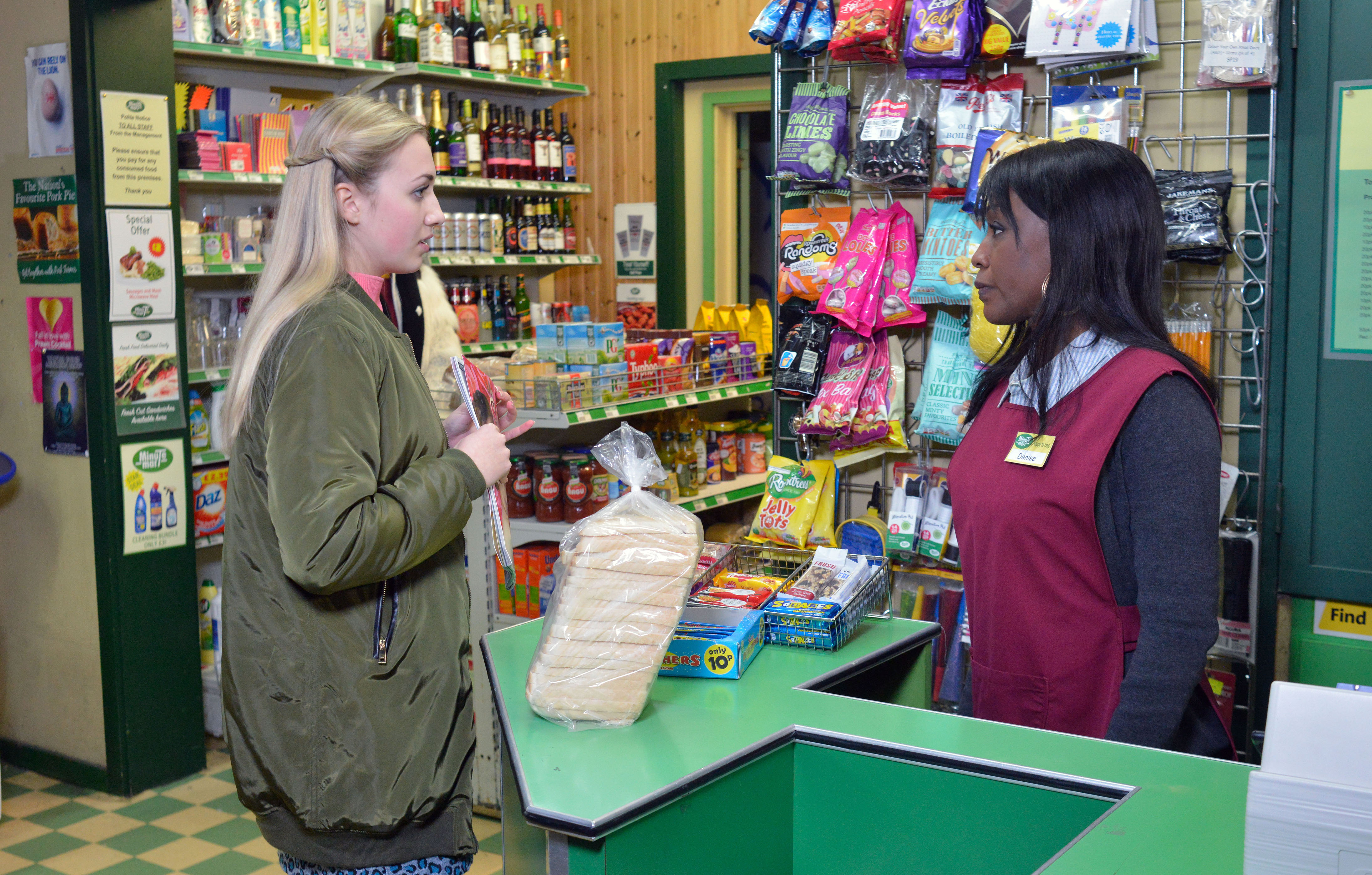 EastEnders spoilers: Denise catches Louise shoplifting – but is the Mitchell youngster ready to pay the price?