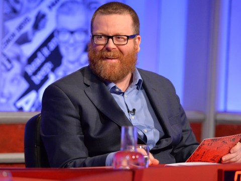 Frankie Boyle's jokes about the Queen were cut from Have I Got News For You