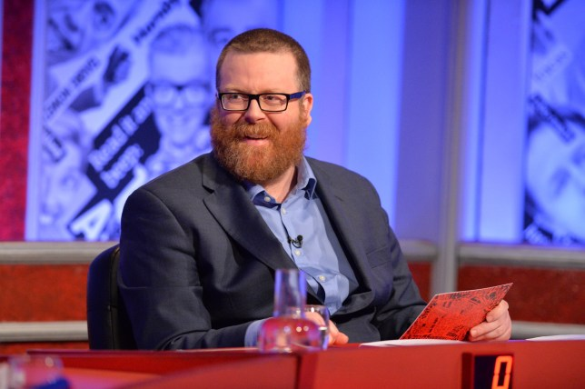 Programme Name: Have I Got News For You - TX: 13/05/2016 - Episode: n/a (No. 6) - Picture Shows: Guest host Frankie Boyle - (C) Hat Trick - Photographer: Richard Kendal