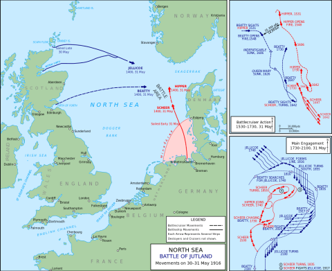Map Of England 2100.Battle Of Jutland Map Ships Who Won Where Is Scapa Flow