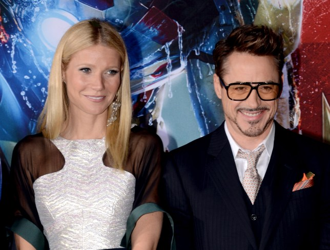 Robert Downey Jr S Wife Is Cool With Him Kissing Gwyneth Paltrow