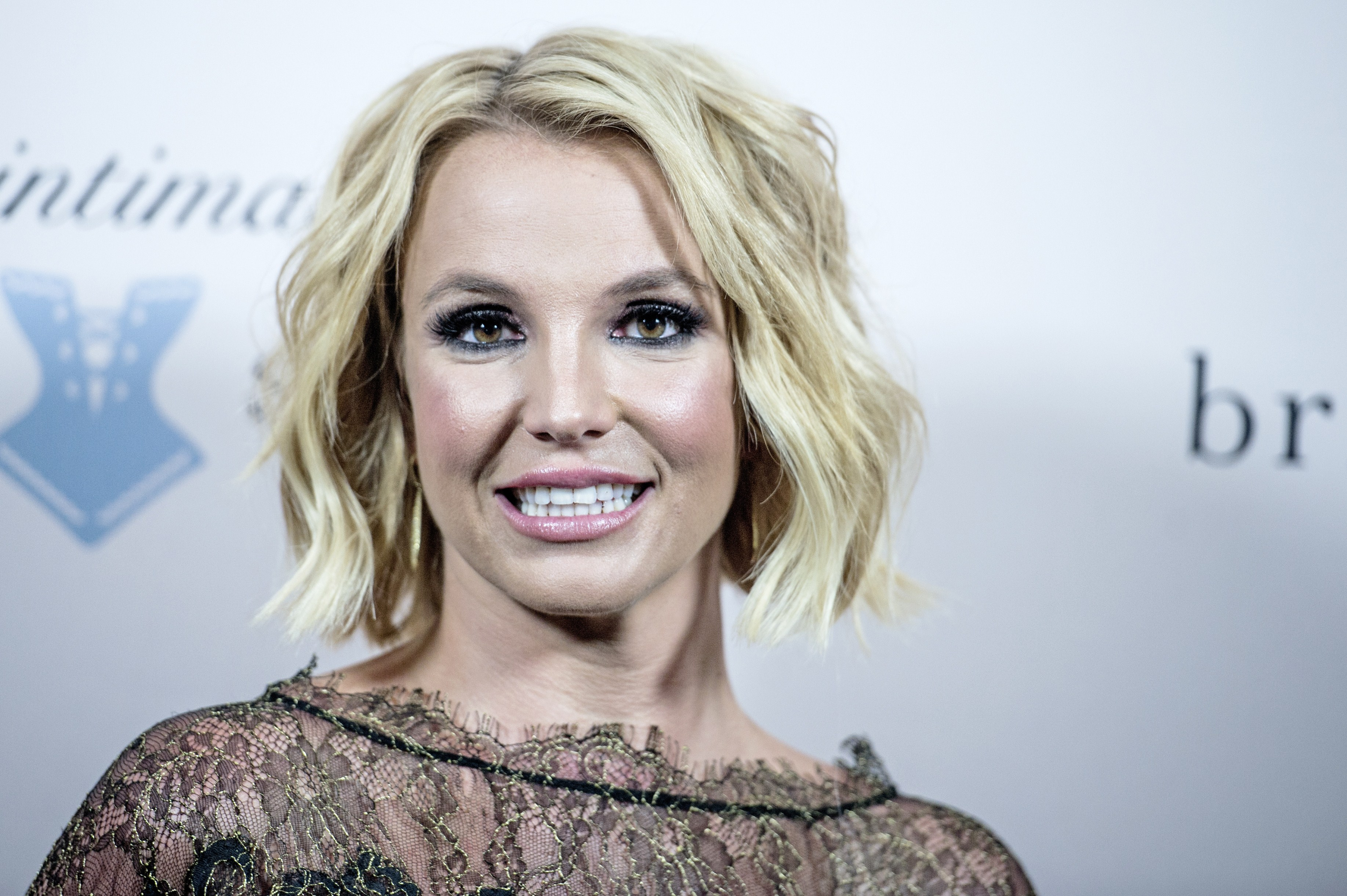 US singer Britney Spears attends the launch of her new lingerie brand The Intimate Britney Spears at The Forum in Copenhagen on September 25, 2014. AFP PHOTO/SCANPIX DENMARK/CHRISTIAN LILIENDAHL == DENMARK OUT == (Photo credit should read Christian Liliendahl/AFP/Getty Images)