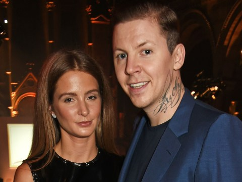Professor Green responds to Millie Mackintosh 'wearing her wedding dress to a Halloween party'