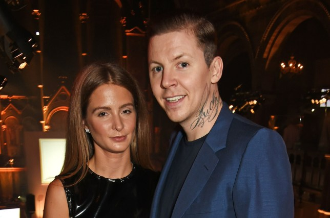 Professor Green and Millie Mackintosh announced their split earlier this year (Picture: Dave Benett/Getty Images)
