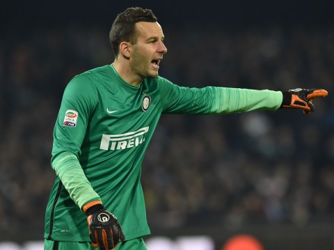 Arsenal and Chelsea dealt transfer blow after agent of Samir Handanovic says keeper is staying with Inter Milan
