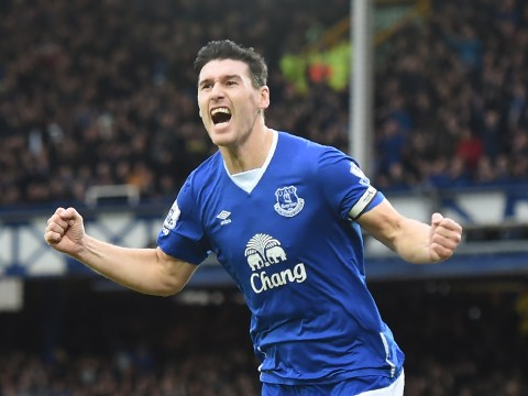 Everton's Gareth Barry plans to keep on playing and has Ryan Giggs' record in his sights
