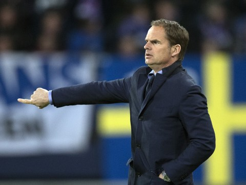 Everton already in talks to hire Frank de Boer as Roberto Martinez's replacement