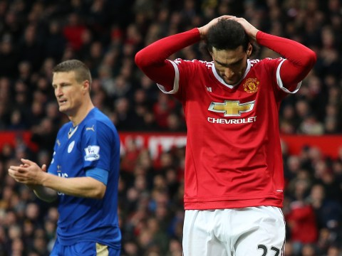 Marouane Fellaini and Robert Huth get three-match bans for brawl in Manchester United vs Leicester City clash