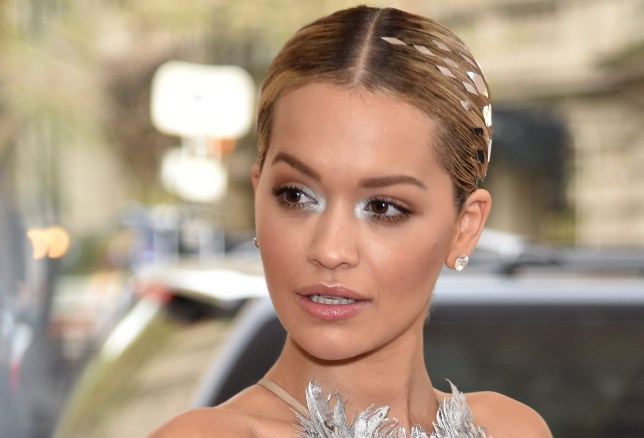"""NEW YORK, NY - MAY 02: Singer Rita Ora attends the """"Manus x Machina: Fashion In An Age Of Technology"""" Costume Institute Gala at Metropolitan Museum of Art on May 2, 2016 in New York City. (Photo by Dimitrios Kambouris/Getty Images)"""
