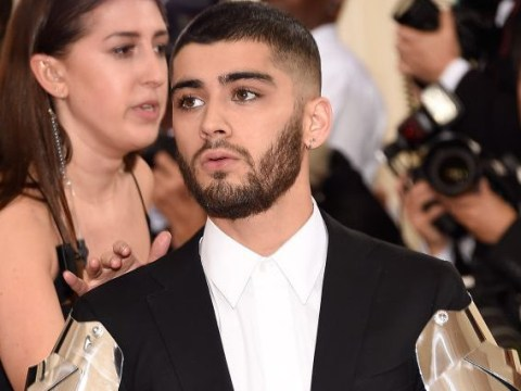 Everyone went into complete meltdown over Zayn Malik's Met Gala robot arms