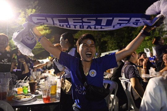 Leicester City: Foxes fans celebrate winning Premier ...