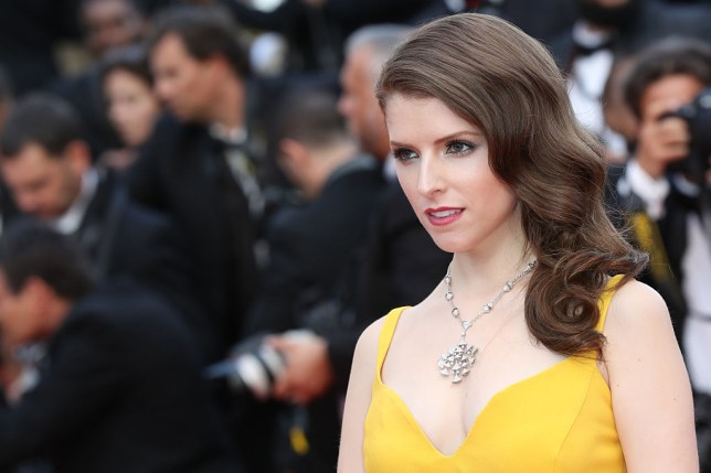 US actress Anna Kendrick poses as she arrives on May 11, 2016 for the opening ceremony of the 69th Cannes Film Festival in Cannes, southern France. / AFP / Valery HACHE (Photo credit should read VALERY HACHE/AFP/Getty Images)