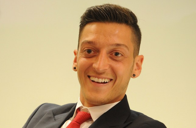 LONDON, ENGLAND - MAY 12: Mesut Ozil of Arsenal during The Arsenal Foundation Ball at Emirates Stadium on May 12, 2016 in London, England (Photo by David Price/Arsenal FC via Getty Images)