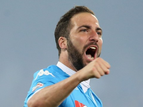 Gonzalo Higuain breaks the Serie A scoring record with an absolutely amazing goal