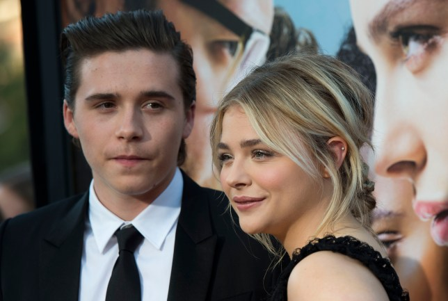 Chloe Moretz likes boyfriend Brooklyn Beckham's family. A lot. (Picture: AFP/Getty Images)