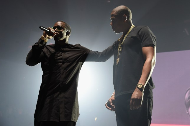 "NEW YORK, NY - MAY 20: Jay Z (L) and Sean ""Diddy"" Combs aka Puff Daddy perform onstage during the Puff Daddy and The Family Bad Boy Reunion Tour presented by Ciroc Vodka And Live Nation at Barclays Center on May 20, 2016 in New York City. (Photo by Jamie McCarthy/Getty Images for Live Nation)"