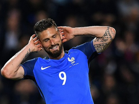 That stat that shows Arsenal's Olivier Giroud is being harshly treated by France's boo boys