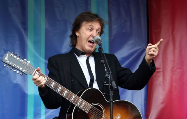 Sir Paul McCartney didn't realise he was being offensive (Picture: PA)