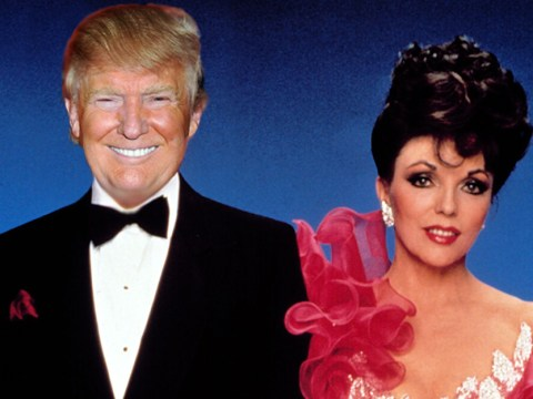 Joan Collins says Donald Trump was once desperate to be in Dynasty