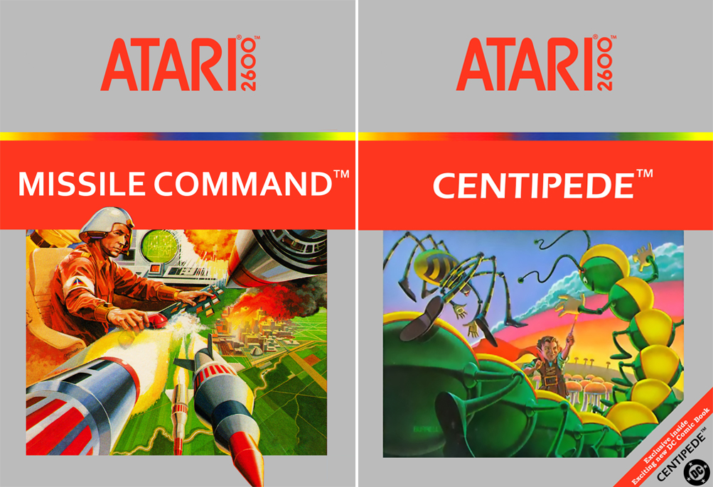 Classic Atari games Centipede and Missile Command heading for the big screen