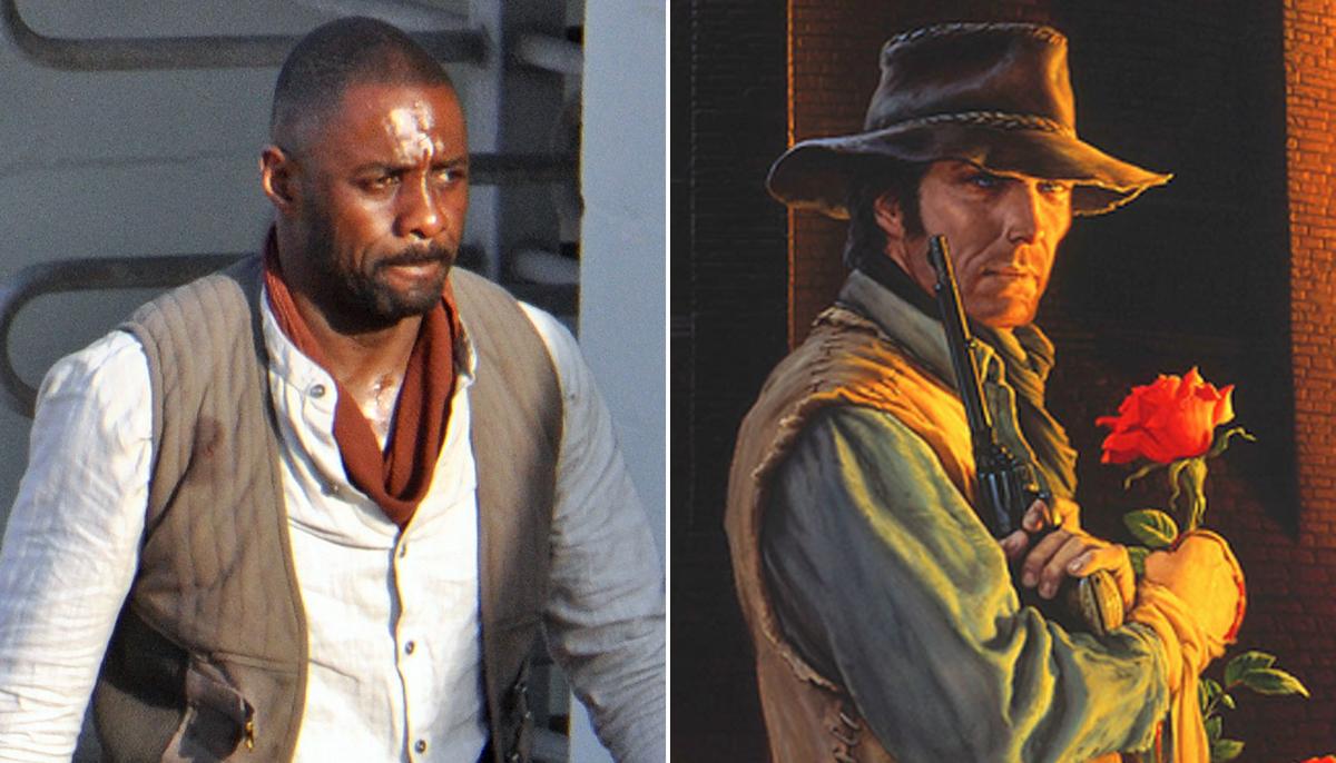 FIRST LOOK: Idris Elba looks every bit the gunslinger on The Dark Tower set