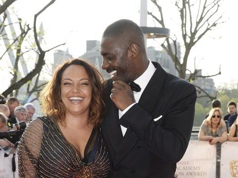 BAFTA TV 2016: Idris Elba back with ex Naiyana Garth
