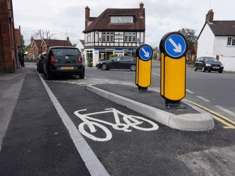 What's wrong with this cycle path?