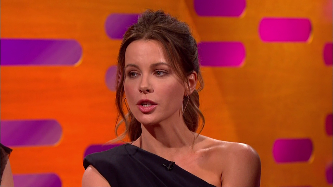 Kate Beckinsale was ordered to hit the gym (Picture: BBC/WENN)